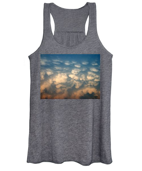 Cloud Texture Women's Tank Top