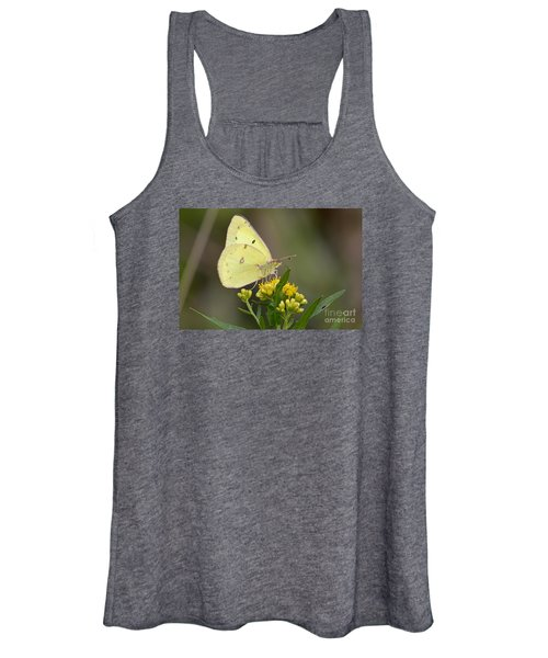 Clouded Sulphur Women's Tank Top
