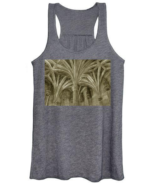 Cluny Museum Ceiling Detail Women's Tank Top