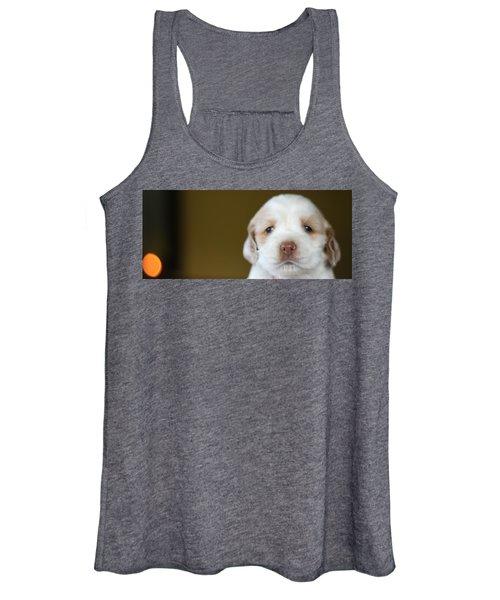 Cocker Spaniel Puppy  Women's Tank Top