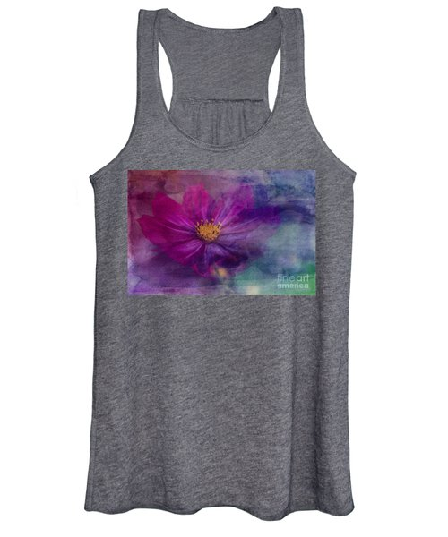 Colorful Cosmos Women's Tank Top