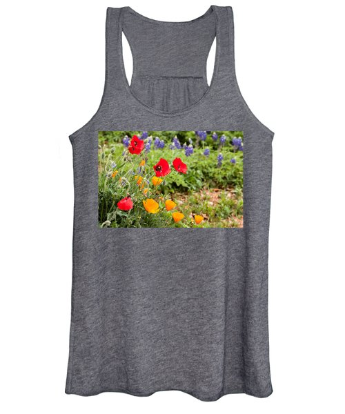 Colors Of Spring Women's Tank Top