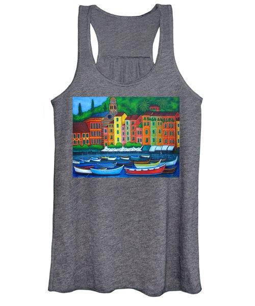 Colours Of Portofino Women's Tank Top