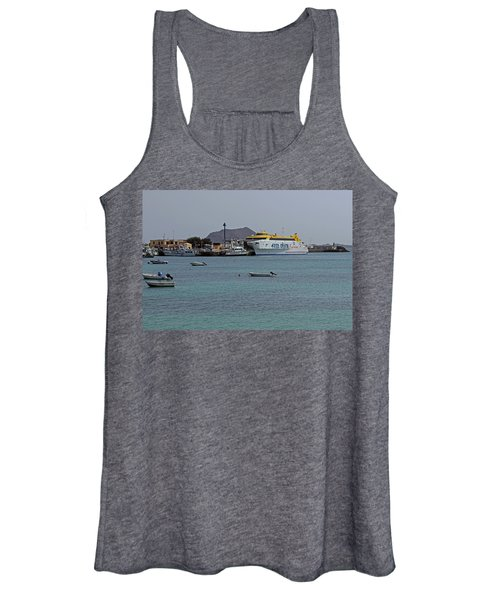 Corralejo Harbour Women's Tank Top
