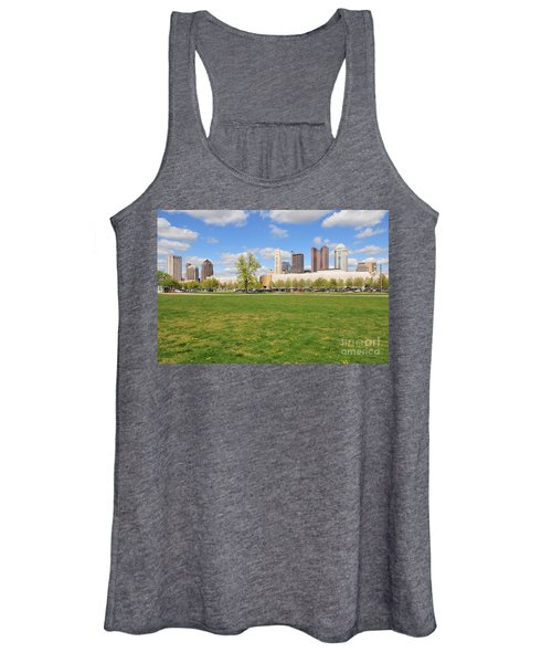 D7l-89 Cosi Columbus Photo Women's Tank Top
