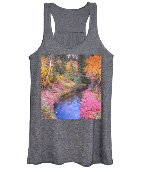 Cotton Candy Creek Women's Tank Top