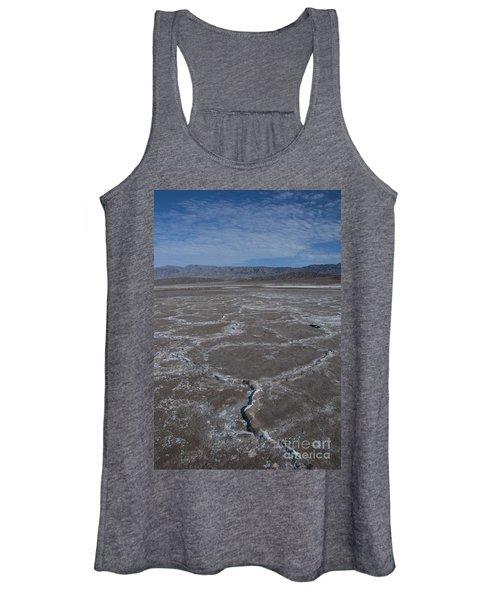 Cottonball Basin At Death Valley Women's Tank Top