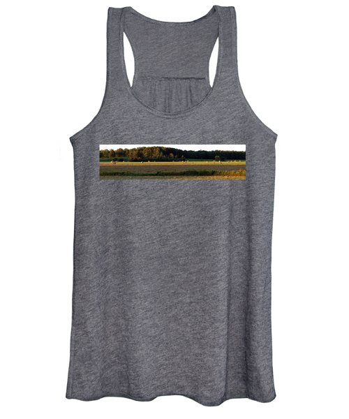 Country Bales  Women's Tank Top