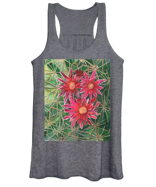 Coville Barrel Blossoms Women's Tank Top