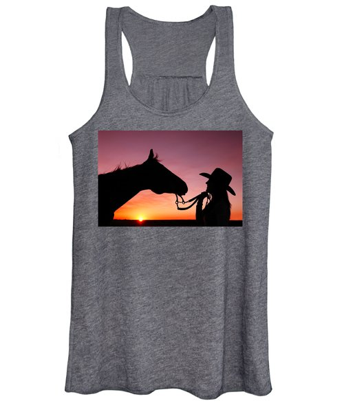 Cowgirl Sunset Women's Tank Top