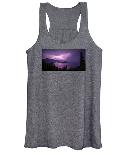 Crater Storm Women's Tank Top