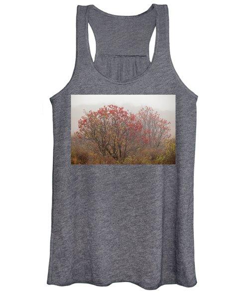 Crimson Fog Women's Tank Top