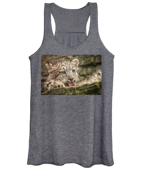 Cub And Tongue Women's Tank Top