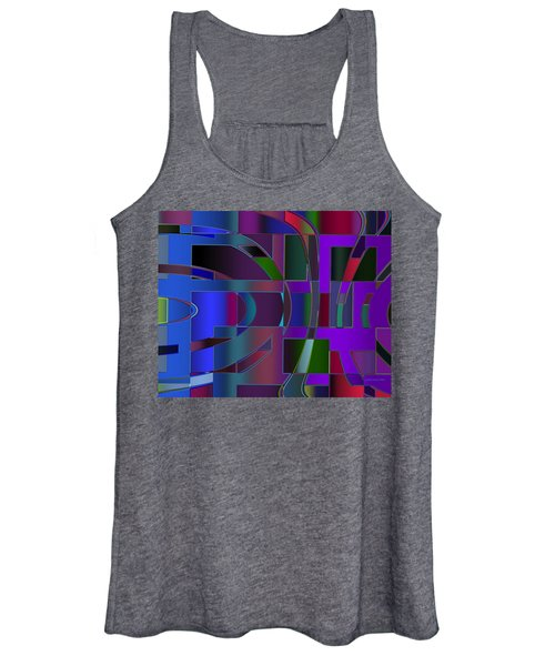 Curves And Trapezoids 2 Women's Tank Top