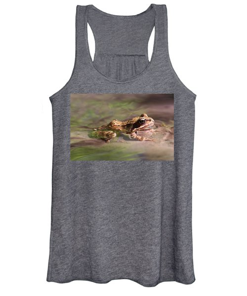 Cute Litte Creek Frog Women's Tank Top