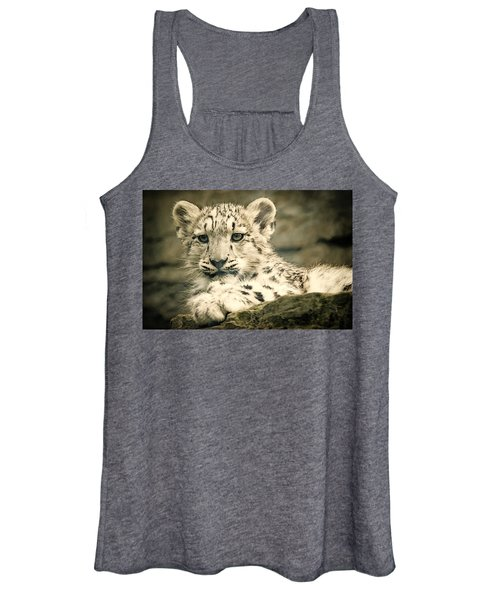 Cute Snow Cub Women's Tank Top