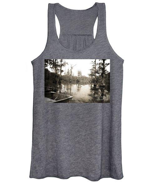 Cypress Swamp Women's Tank Top