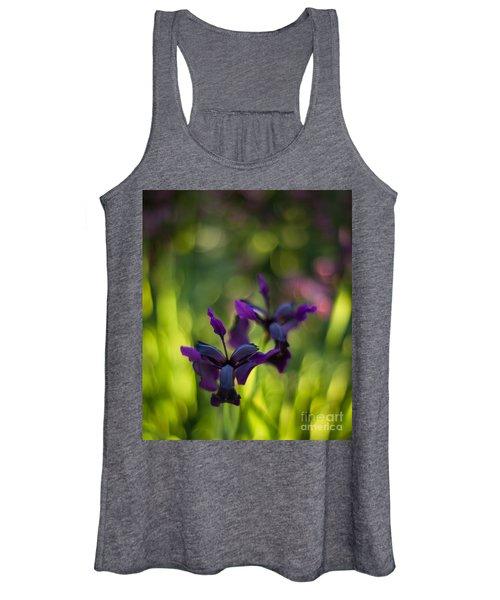 Dark Irises Women's Tank Top