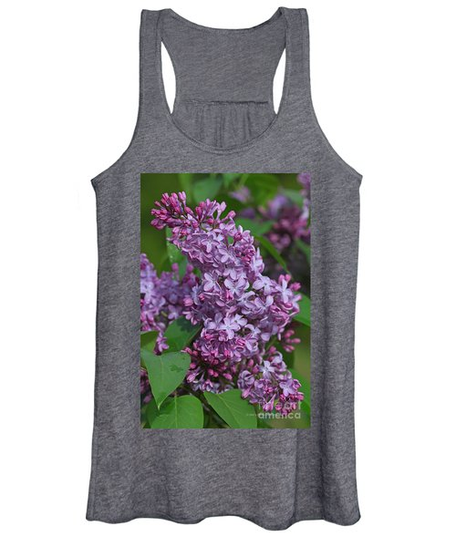 Dawns Lilacs Women's Tank Top