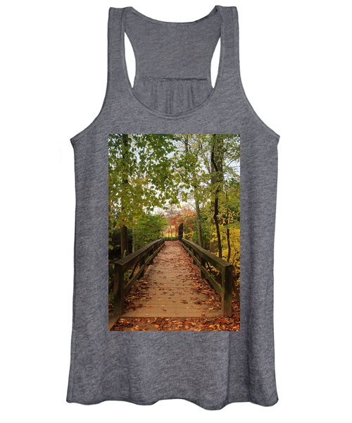 Decorate With Leaves - Holmdel Park Women's Tank Top