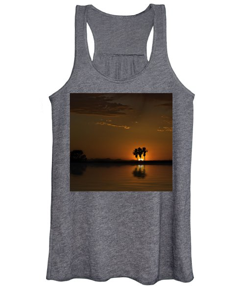 Desert Sunset Women's Tank Top