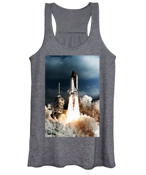Discovery Hubble Launch Sts-31 Women's Tank Top