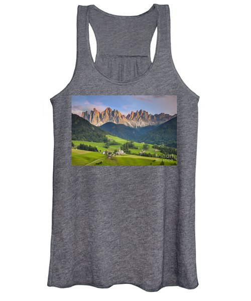 Dolomites From Val Di Funes Women's Tank Top