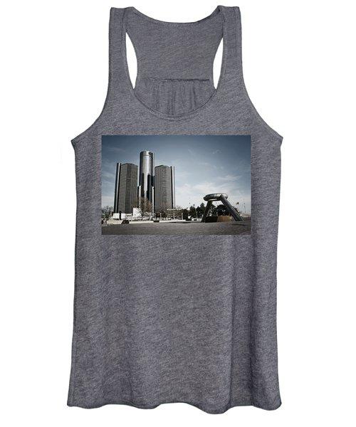 Downtown Detroit Women's Tank Top
