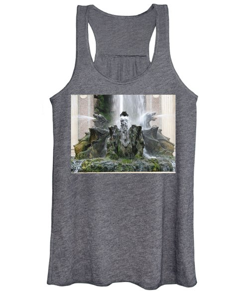 Dragon Fountain Women's Tank Top