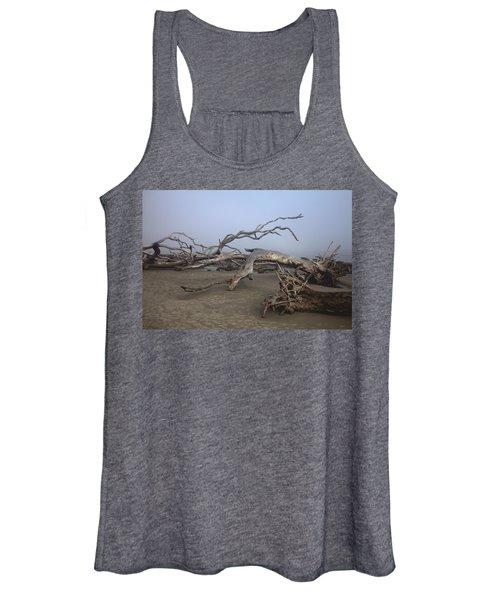 Driftwood Trees On Jekyll Island Women's Tank Top