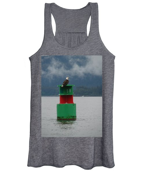 Eagle On Bouy Women's Tank Top
