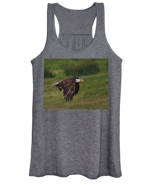 Eagle With Prey Women's Tank Top