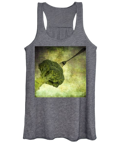 Eat Your Broccoli Women's Tank Top