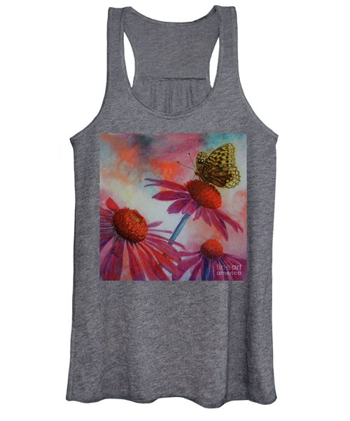 Echinacea Fritillaria Women's Tank Top