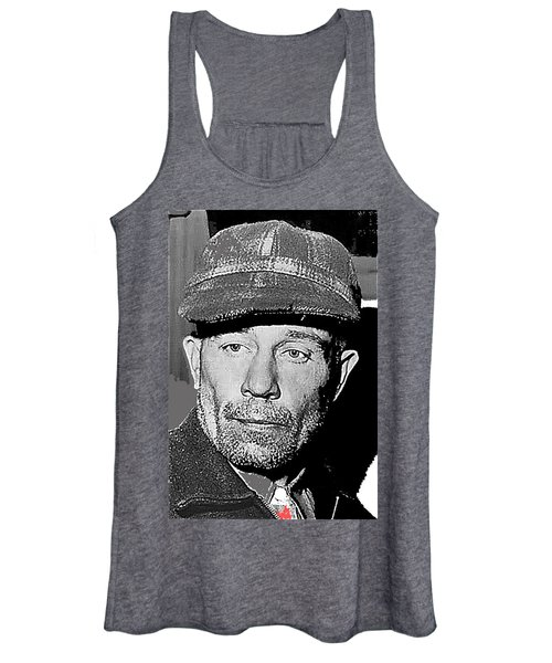 Ed Gein The Ghoul Who Inspired Psycho Plainfield Wisconsin C.1957-2013 Women's Tank Top