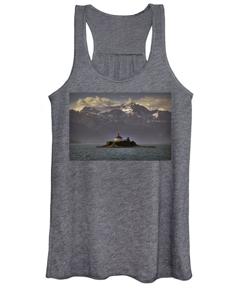 Eldred Rock Lighthouse Alaska Women's Tank Top