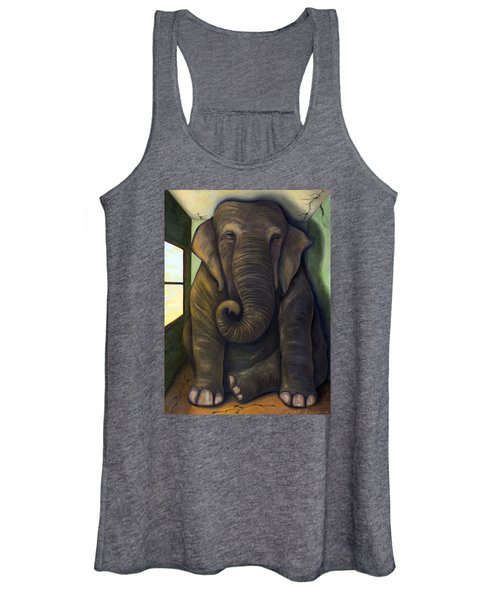 Elephant In The Room Women's Tank Top