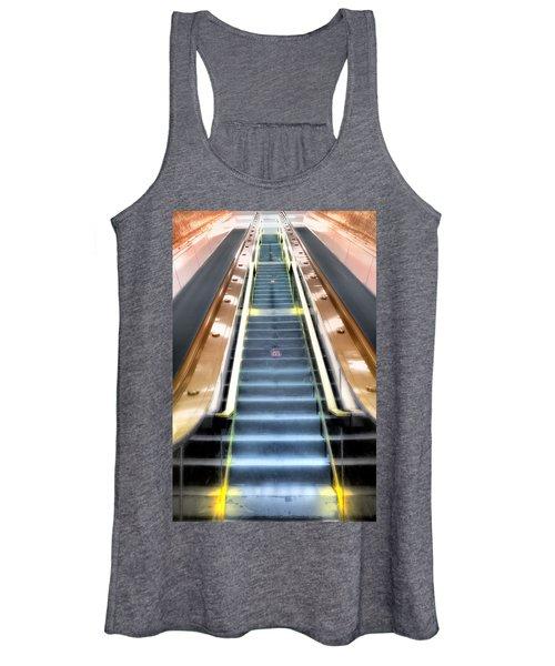 Escalator To Heaven Women's Tank Top