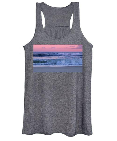 Evening Waves - Jersey Shore Women's Tank Top