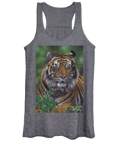 Eye Of The Tiger Women's Tank Top