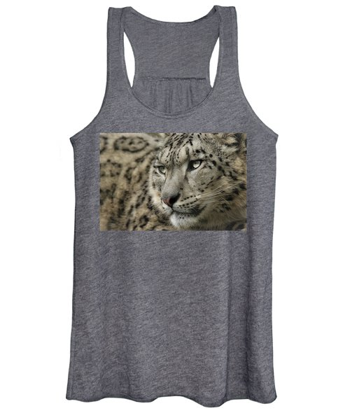 Eyes Of A Snow Leopard Women's Tank Top