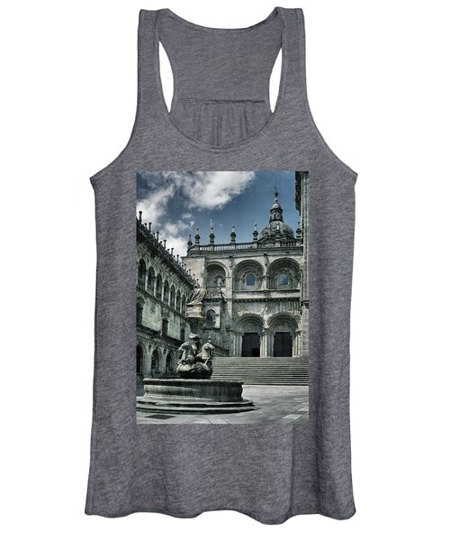 Facade Of The Silverware In Santiago De Compostela Women's Tank Top