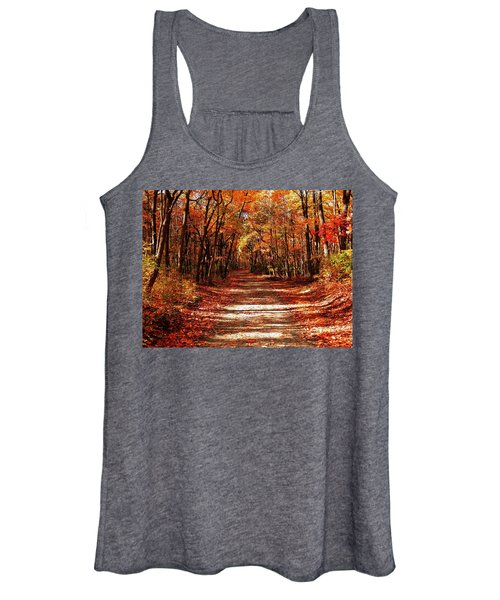 Fall At Cheesequake Women's Tank Top