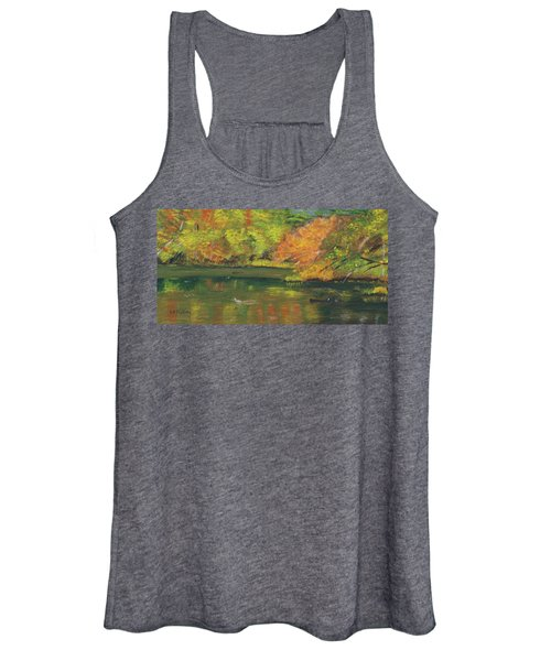 Fall At Dorrs Pond Women's Tank Top