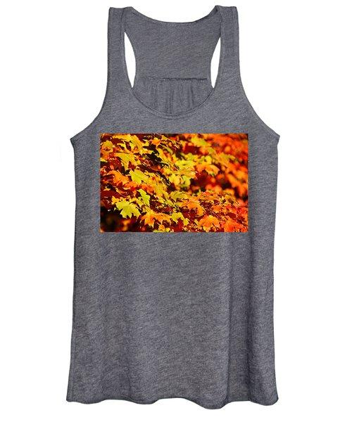 Fall Foliage Colors 13 Women's Tank Top