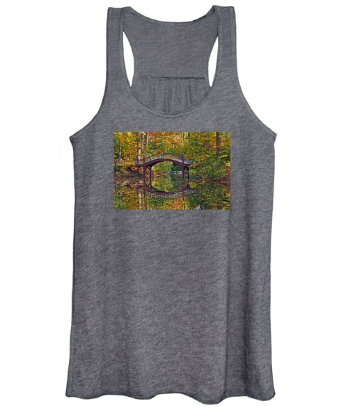 Fall Reflections At Crim Dell Women's Tank Top