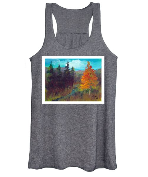 Fall View Women's Tank Top