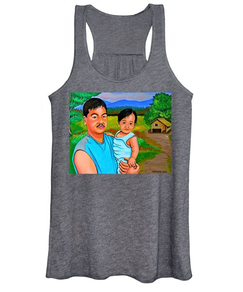 Father And Son Women's Tank Top