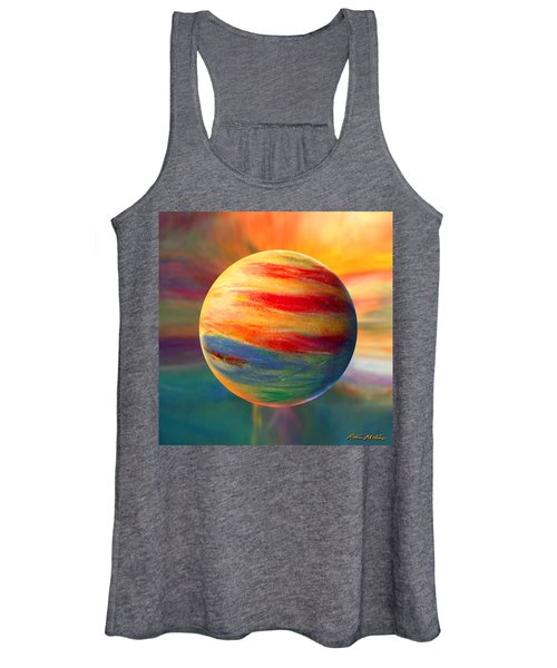 Fire And Ice Ball  Women's Tank Top