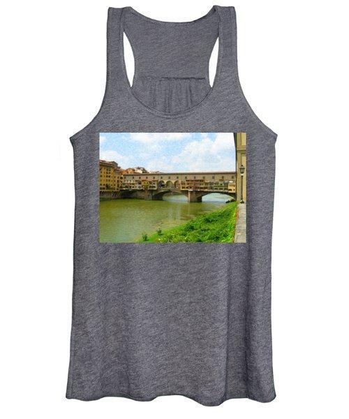 Firenze Bridge Itl2153 Women's Tank Top